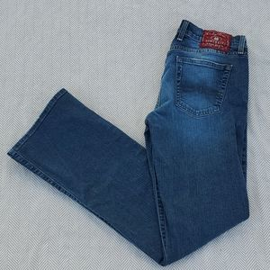 Lucky brand size 8/29 mid rise flare blue jeans